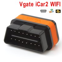 Wholesale Obdii Professional Diagnostic - Vgate ELM327 iCar2 Wifi OBD2 OBDII Professional Solution Scanner Diagnostic Adapter Scan Tools CDT_005