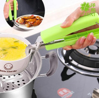 Wholesale Dish Clamp - Creative Multifunction Scald Heat Proof Plate Bowl Dishes Kitchen Helper Clamp Clip Bottle Opener Easy To Use and Clean 120pcs