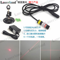 Wholesale co2 laser engraving machine - 1240 Focusable 650nm 5mW 50mW Red Dot Line Cross Laser Diode Module Glass Lens for CO2 YAG Cutting Engraving Marking Machine