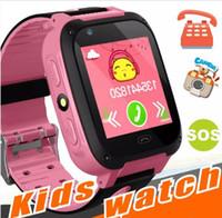 kid gps tracking uhr großhandel-2018 neue GPS-Tracking-Uhr für Kinder Q528 Y21 GPS Smart Watch Taschenlampe Kamera Baby Watch Touchscreen SOS Call Location