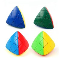 Wholesale Triangle Puzzle Cubes - Triangle Magic Cube Special Shape Puzzle Toys Intelligence Development Props Fun Decompression Tool Relief Stress High Quality 7 48yj Z