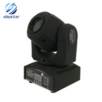 Wholesale Heads Dance - LED 8colors 10W 30W spots Light DMX Stage Spot Moving 8   11 Channels Mini LED Moving Head follow lighting for DJ Effect lights Dance Disco