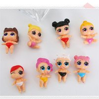 Wholesale different styles dolls resale online - DHL LOL Doll different Styles MIni LOL Model Toys Educational Novelty Kids Unpacking Girl Action Toy Figures Gifts