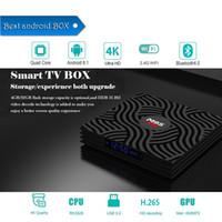 usb 265 venda por atacado-Fábrica oem odm m9s y1 android 8.1 caixa de tv inteligente 4gb / 32gb rk3328 quad-core 2.4g wifi 100 m lan v9 h.265 hdr10 4 k usb 3.0