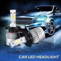 Wholesale 881 Bulb - H1 H3 H4 H7 H8 H9 H11 H13 880 881 9004 9005 9006 9007 9012 COB CREE LED 72W 8000LM 6500K Auto Car Headlights Kit Driving Bulbs Lamps