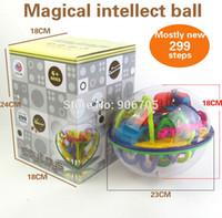 akıl oyunu toptan satış-Sihirli Labirent 299 Adımlar Sihirli Labirent Top Perplexus Büyülü Akıl Topu Eğitici Oyuncaklar Mermer Bulmaca Oyunu Perplexus Topları Iq Dengesi Oyuncak