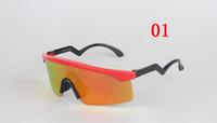 lâminas múltiplas venda por atacado-Polarized 9140 marca homens mulheres óculos de sol ao ar livre moda estilo óculos óculos de barbear lâminas de óculos frete grátis ciclismo óculos de sol