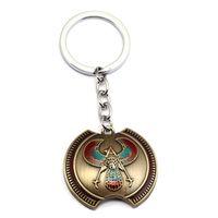 ingrosso souvenir aquila-Portachiavi Eagle Logo Ciondolo collana portachiavi Charm regalo portachiavi souvenir