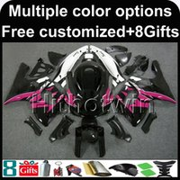 Wholesale 1997 yamaha yzf fairings for sale - Group buy 23colors Botls pink bodywork motorcycle cowl for Yamaha YZF600R YZF R ABS Fairing