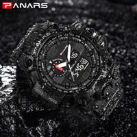 ingrosso grandi orologi a led-PANARS G Sport Led Digital Watch Uomo Militray Big Dial Orologi Uomo Outdoor Swim Diver Impermeabile Orologio Maschile reloj hombre