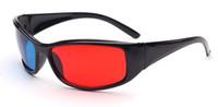 3d gözlük tasarımı toptan satış-3D Gözlük Kırmızı Mavi Unisex Klasik Vintage Tasarım Gözlük Adam Kadın Gözlük 338 # Siyah Tam Kare Gözlük Sunglass Çerçeve Erkek SıCAK