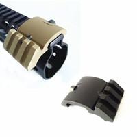 45 градусов крепления оптовых-Ultra Low Profile Offset Picatinny Rail Mount 45 градусов 20 мм боковой черный для красной точки / Мангификаторы / фонари AR