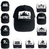 Hot 14 colors Fortnite hats men and women sun baseball hats summer  breathable hat male hip hop hat ladies funny quick-drying cap Ball Caps b2ae93121f5a