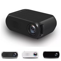 Wholesale tv multimedia portable - YG320 HD USB Mini LED Projector 1080P Home Theater Multimedia Player Support HDMI TV Media Movies Players Beamer Portable Cinema