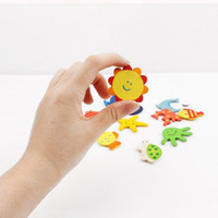 Wholesale Wholesale Magnets For Refrigerator - Household Useful Sticker Originality Wooden Fridge Magnets Super Strong Adsorption Force Refrigerator Magnet For Baby Education 0 12df B