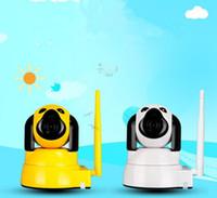 cctv kameras verkauf großhandel-Heißer Verkauf Puppy Modellierung Babyphone Home Security Wireless Smart IP-Kamera Überwachungskamera Wifi Nachtsicht CCTV-Kamera