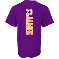 números de camiseta al por mayor-Baloncesto Lakers LeBron James camiseta Kobe Bryant Brandon Ingram Kyle Kuzma balón Nombre número camiseta de baloncesto