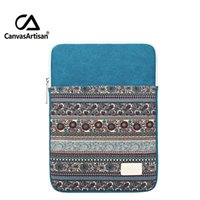 Wholesale tablet 13 sleeve online - 15 Inches Canvas Briefcase For Laptop quot quot quot inches For Tablet Protective Shakeproof Sleeves Bags Notebooks Delicated