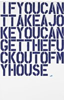 Wholesale spray can painting for sale - Group buy Christopher Wool Art Works If You Can Take A Jokey Home Decor Art Poster Print inches