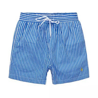Wholesale Horse Bows - Wholesale-Summer Men Short Pants Brand Clothing Swimwear Nylon Men Brand Beach Shorts Small horse Swim Wear Board Shorts 2018