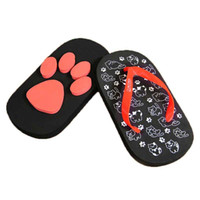 Wholesale slippers claws for sale - Group buy 2018 Summer Unisex Man Slippers Cartoon Cat Claws Flip Flops Women Sandals Girl Beach Flops shoe