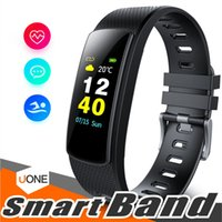 Wholesale i6 wristband for sale – best i6 HRC Smart Bracelet Fitness Tracker Color Screen Fitness Watch Activity Tracker Smart Band heart rate monitor Bluetooth Wristband