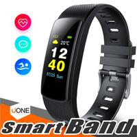 i6 bracelet élégant achat en gros de-i6 hrc smart bracelet tracker de remise en forme couleur écran fitness montre activité tracker Smart band moniteur de fréquence cardiaque bracelet Bluetooth