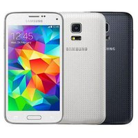 Wholesale android quad core mini phone resale online - Refurbished Original Samsung Galaxy S5 Mini G800F inch Quad Core GB RAM GB ROM MP Camera G Network Android Cell Phone DHL