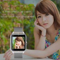 mp4 relógio telefone venda por atacado-SITOOSHE moda mais novo relógio inteligente Z50 com frequência cardíaca SIM card TF mp3 mp4 compatível com e celulares Android