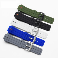 Wholesale 18mm Silicone Watch Strap - New Rubber Watchbands,Waterproof Silicone Strap, 26*18MM bracelet for Timex Watch Accessories 18mm