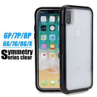 Wholesale Transparent Lights - High Quality Transparent Acrylic Case phone cases For IPhone X 8 7 6 Plus 6S cellphone case