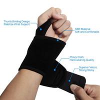 ingrosso polso brace pallavolo-Multi-Functional Wrist Brace Carpal Tunnel con supporto destro o sinistro del pollice per pallavolo da pallavolo