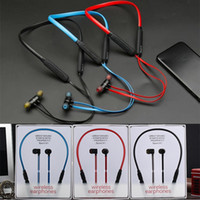Wholesale 75 OFF Good A Quality Sport X Bluetooth Headphone Headset Wireless Earphone Headphones w Mic Stereo Magnets Earplug for Phone Tablet iPad