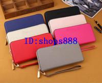 Wholesale famous brand purses for sale - Group buy 2019 famous brand Michael isabel fashion zipper luxury designer women wallet lady ladies long purse wallet