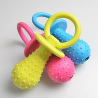 Wholesale dogs toy poodle for sale - 1Pc Rubber Nipple Dog Toys For Pet Chew Teething Train Cleaning Poodles Small Puppy Cat Bite Best Pet Dogs Supplies