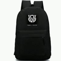 Wholesale best backpacks for school resale online - Vogue V records backpack Best for you daypack Top DJ music schoolbag Leisure rucksack Sport school bag Outdoor day pack