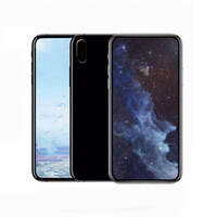 Wholesale Real Mobile Phone - Goophone X Real Face ID 5.5 Inch Support Wireless charge Smartphone Quad Core MTK6580 1G+8GB 16GB Mobile Phone 4g unlocked Cellphone
