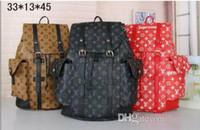 aaa rucksack großhandel-AAA Qualität gut bekannt Luxus Frauen Rucksack Männer Tasche Berühmte Rucksack Designer Männer Rucksack Frauen Reisetasche Rucksäcke viele st