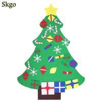 ingrosso vecchi alberi di natale-Toys Tree Puzzle TypeB Decorazioni natalizie TypeC Stereo 3 DIY Old Years TypeA Bambini Christmas Handmade