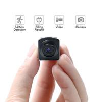 vedio kameras großhandel-Heiße neue Mini-Kamera-Mikro-bewegliche Taschen-Kamera 1280 * 960 1 Million Pixel Recorder-Bewegungserkennungs-füllende Aufzeichnung Vedio neu