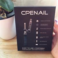 Wholesale newest electronics for sale - Group buy 100 Authentic CPENAIL Newest version Electronic CPENAIL mah portable wax pen with quartz titanium ceramic nail eCigs