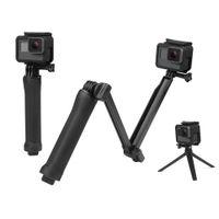 ingrosso monopiede pro eroe-Impermeabile monopiede selfie bastone per Gopro Hero 5 4 3 sessione ek7000 Xiaomi Yi 4K fotocamera treppiede Go pro accessorio