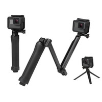 trípode pro al por mayor-Impermeable Monopod Selfie Stick para Gopro Hero 5 4 3 Sesión ek7000 Xiaomi Yi 4K Trípode para cámara Go Pro Accesorio