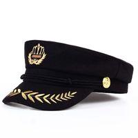 Toptan Satın Alış 2019 Kadın Askeri şapka çinden On Line Kadın
