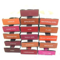 Wholesale beauty army online - Beauty Makeup Colors Matte Liquid Lipstick Matte lip gloss lipgloss rouge a levre maquillage Kit