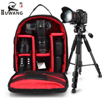 Wholesale video compact - New Pattern DSLR Camera Rucksack Video Backpack Photo Bags Small Compact Camera Backpack for Nikon Camera D3200 D3100 D5200 D7100