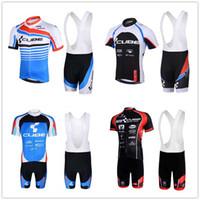 Wholesale bike cube - CUBE pro team Breathable Summer Cycling Jerseys Short Sleeve Anti UV Bicycle Clothing Top Brand Quality Bike Jersey 9D gel pad Ropa Ciclismo