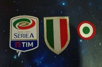 Wholesale wholesale red cups - Italia Calcio patch Juventus 2018 2019 patches red coppa Italia Circle Scudetto patch Scudetto + Italy Cup patch