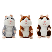 Wholesale pet toys for girls - Cute Mimicry Pet Talking Hamster Repeats What You Say Plush Animal Toy Electronic Hamster Mouse for Boy and Girl Gifts Plush Toys