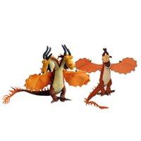 поезд дракон беззубый чучело животных оптовых-14 дюймов ночная ярость плюшевые игрушки Как Приручить Дракона 2 беззубый Дракон чучела животных куклы